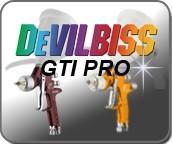 DeVilbiss GTI PRO Verfspuitpistolen