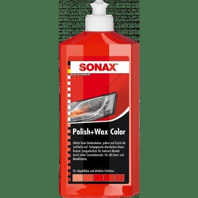 SONAX Polish + Wax Rood
