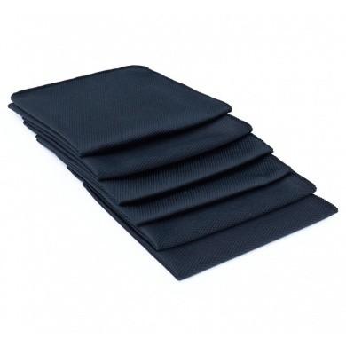 The Rag Company Black Diamond Microfiber Glass Towel