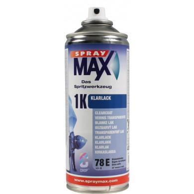 1K Blanke Lak Hoogglans in spuitbus SprayMax 400ml