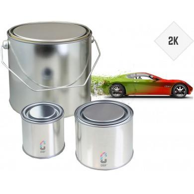 2K Autolak in blik - in iedere gewenste kleur - PU lak