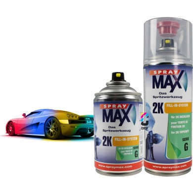 2K Autolak in Spuitbus SprayMax 250ml & 400ml - High Solid