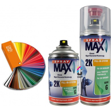 2K RAL-kleur in Spuitbus SprayMax - High Solid