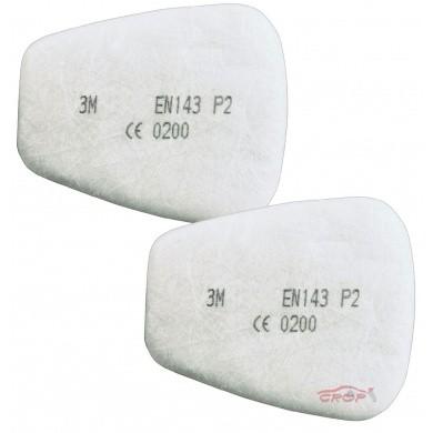 3M 06925 Particulate Respirator Pre-Filters P2 per 2 pieces