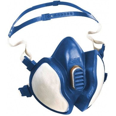3M 06942 Disposable Paint Spray Respirator Face Mask FFA2P3D
