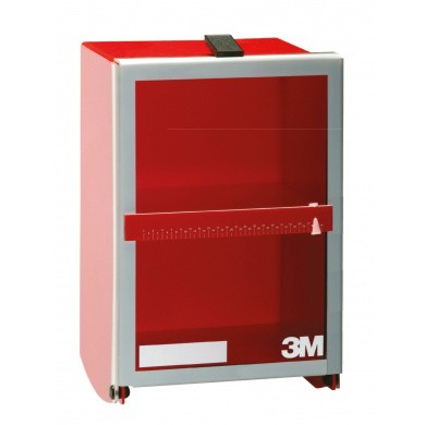 3M Wall Mounted Safety Box LARGE for storage 2 Half Face Respirators 06966