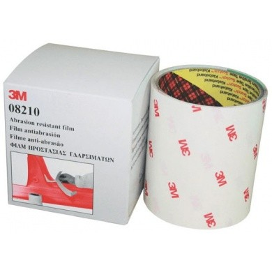 3M 08210 Abrasion Resistant Film - Transparent 10cm x 2,5 meters / 2 Rolls