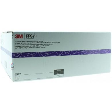 3M 26000 PPS 2.0 Kit Standaard 650ml - 200mu - 50 binnenbekers + deksels