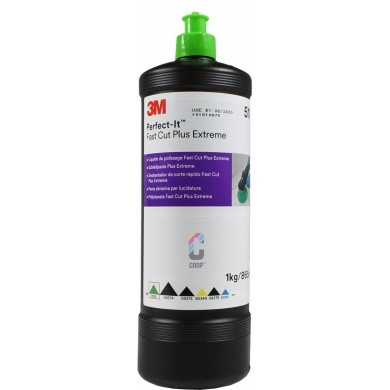 3M Perfect-It III Fast Cut Plus Extreme Polishing Compound 51815 - Green Cap