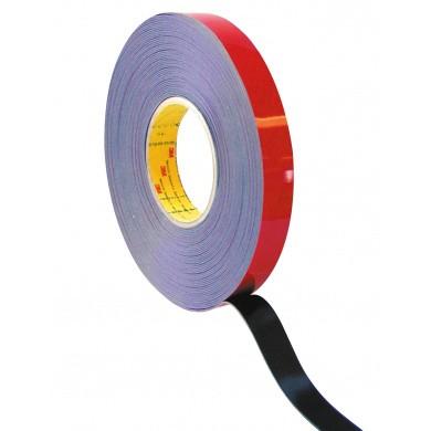 3M Acrylaat Dubbelzijdig Tape - Zwart - 20 meter