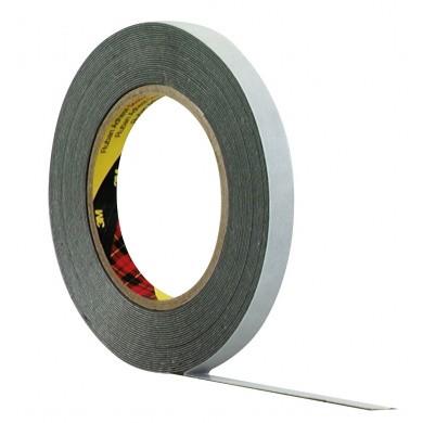 3M Acrylaat-Foam Dubbelzijdig Tape - Donker Grijs - 20 meter