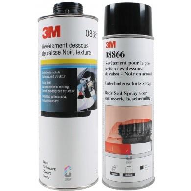 3M Body-Seal Bitumen Bodyschutz Underbodycoating - Zwart