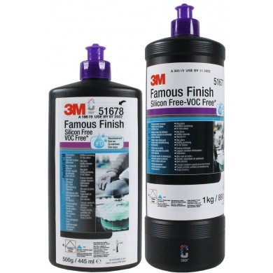 3M Perfect-It Famous Finish Polijstmiddel - Paarse dop
