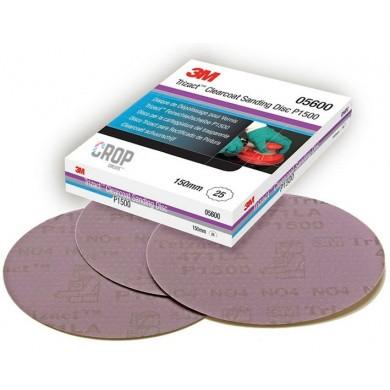 Disque de ponçage P1500 pour vernis - Trizact 471LA de 3M - la pièce