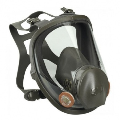 3M Full Face Respirator 6000 serie (without filter)