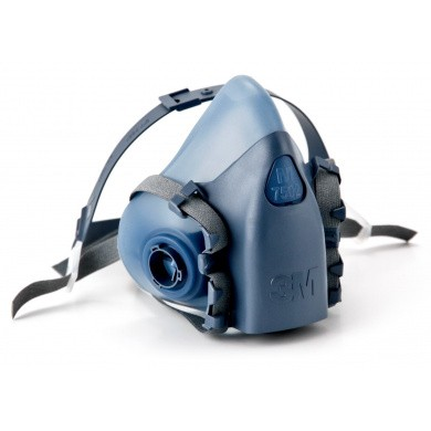 3M Half Mask Face Respirator 7500 serie (without filter)