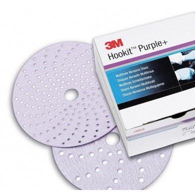 3M  Hookit Purple+ Multihole Schuurschijven 150mm - 100 stuks