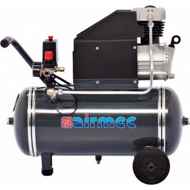 AIRMEC KA25280 Verrijdbare Oliegesmeerde zuigercompressor 285 ltr/min - 2,50 pk