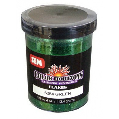 SEM Horizon Custom Finish Metal Flakes (Glitters) 06064 GREEN