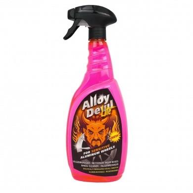Alloy Devil Velgenreiniger Lite + Sprayer 1 liter