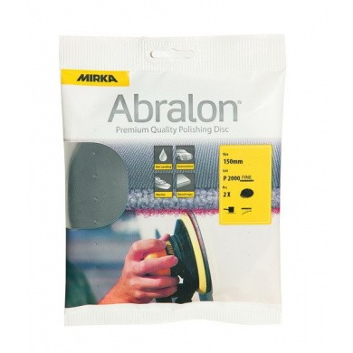 MIRKA ABRALON Sanding Discs - 150mm, 2 pieces, Small Package