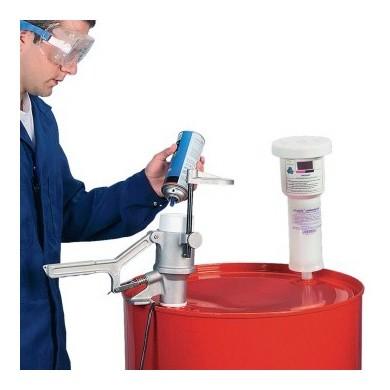 JUSTRITE AEROSOLV 28202 Recyclingsystem für Spraydosen
