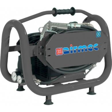 AIRMEC C3-15 Draagbare Oliegesmeerde zuigercompressor 85 ltr/min - 0,75 pk