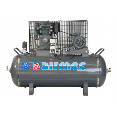 AIRMEC CFT305-15 Oliegesmeerde zuigercompressor 650 ltr/min - 5,5 pk * 15 BAR UITVOERING *