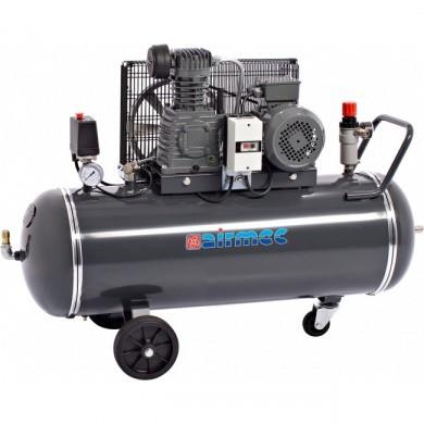 AIRMEC CRM102 Verrijdbare Oliegesmeerde zuigercompressor 321 ltr/min - 2 pk