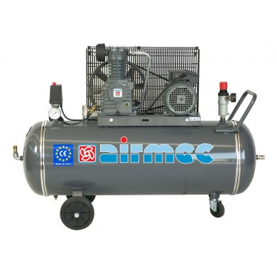 AIRMEC CRM152/CRT152 Mobile Oil Lubricated Piston Compressor - 340 ltr/min, 3 hp