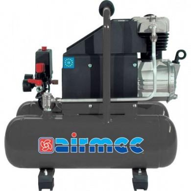 AIRMEC CS16 Portable Oil Lubricated Piston Compressor - 220 ltr/min, 1.65 hp
