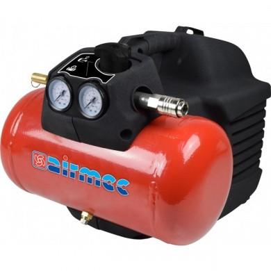 AIRMEC KZ240-05 Mobile Oil Free Piston Compressor - 240 ltr/min, 1.5 hp