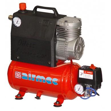 AIRMEC KZ12-24 Draagbare Olievrije zuigercompressor 120 ltr/min - 0,5 pk