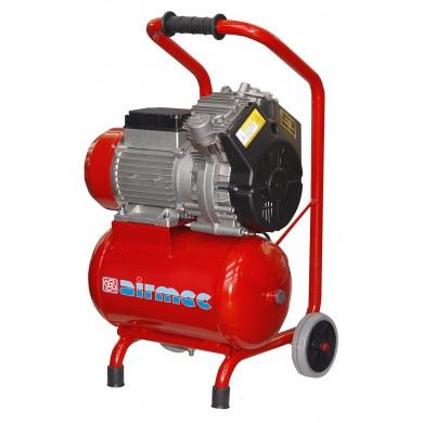 AIRMEC KZ240-10 Verrijdbare Olievrije zuigercompressor 240 ltr/min - 1,5 pk
