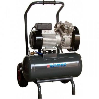 AIRMEC KZ350-30 Mobile Oil Free Piston Compressor - 350 ltr/min, 2 hp