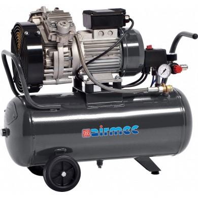 AIRMEC KZ350-30 Verrijdbare Olievrije zuigercompressor 350 ltr/min - 2 pk