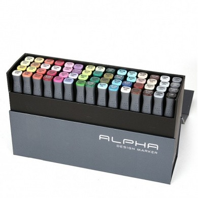 MONTANA Alpha Design Twin Markers - 60A Set - Colour