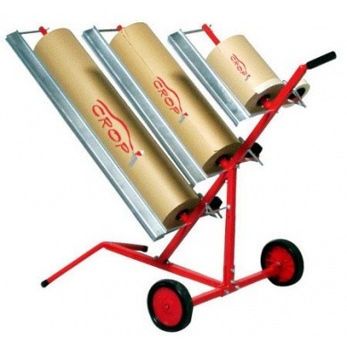 Apron Taper & Paper Car for 3 Rolls - Diagonally and Mobile