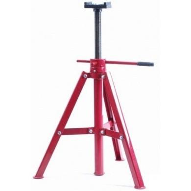 Assteun 12 ton met schroefdraadspil - Hoog model