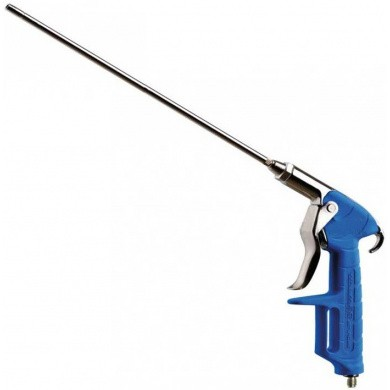 AsturoMec PA/6LL Chromed Blowgun with Soft Grip Handle and 300mm Blow Spout