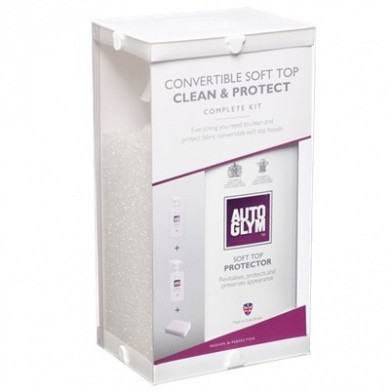 AUTOGLYM Convertible Soft Top Clean & Protect Kit