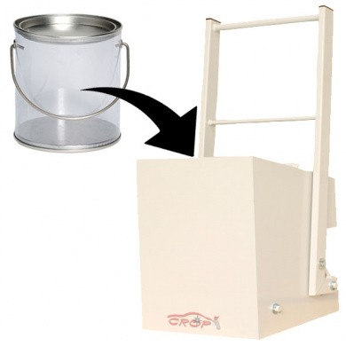 Manual Cans Press to 10 litres for Wall Mounting CRP1100