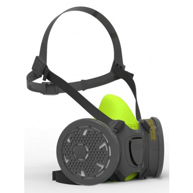BLS 4000 Respirator with Bayonet connection - without filters