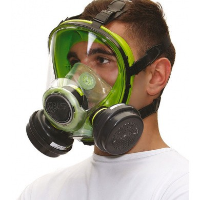 BLS 5000 Full Face Respirator with Bayonet connection - without filters