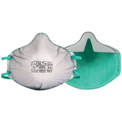 BLS Stofmasker FFP3 zonder uitademventiel - per stuk