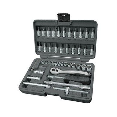 "BOXO Socket Set 1/4"" (46-pieces)"