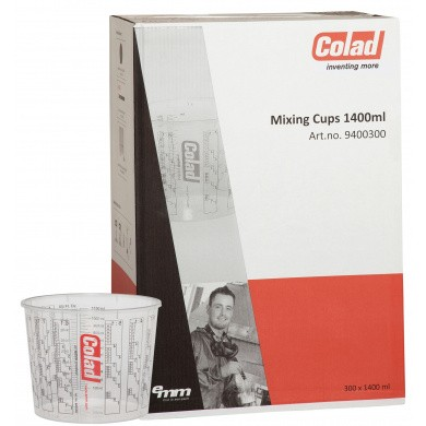 COLAD Mengbekers 1400ml - 300 stuks