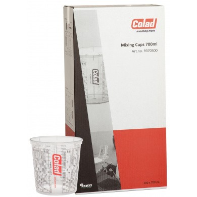 COLAD Mengbekers 700ml - 300 stuks