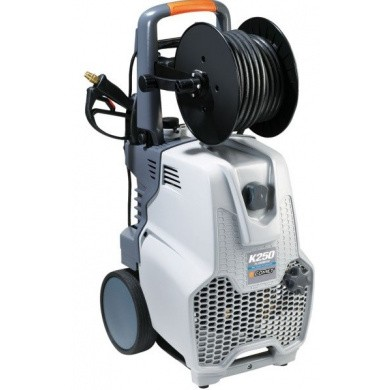 COMET K250 12/130 M EXTRA Professional High Pressure Cleaner  + SC155 Tile Cleaner - Cold Water