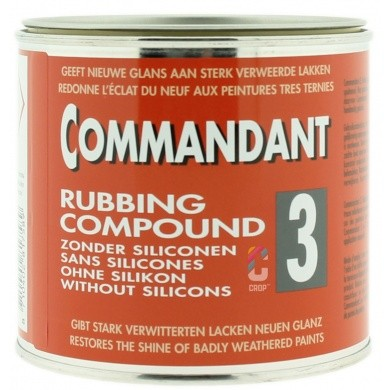 Commandant 3 Polijstmiddel Grof - Blik 500 gram